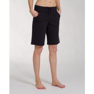 White lululemon be still Bermuda shorts!